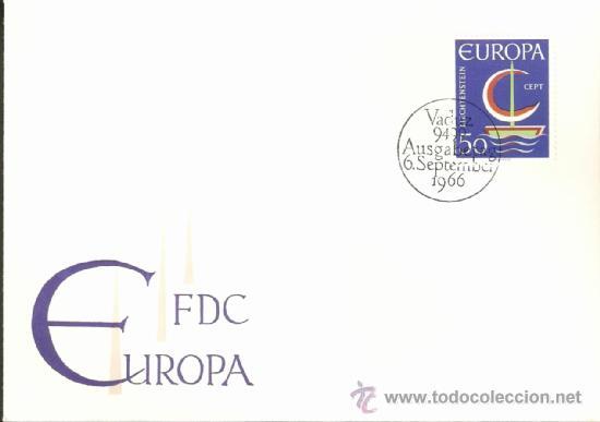 EUROPA 1966 (Sellos - Extranjero - Europa - Liechtenstein)