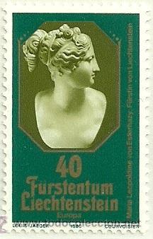 LIECHTENSTEIN 1980 EUROPA 2V YVERT 682/3 (Sellos - Extranjero - Europa - Liechtenstein)