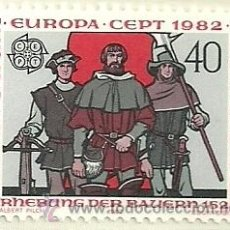 Sellos: LIECHTENSTEIN 1982 EUROPA 2V YVERT 732/3. Lote 39138952