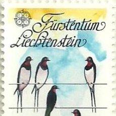 Sellos: LIECHTENSTEIN 1986 EUROPA 2V YVERT 834/5. Lote 39338820