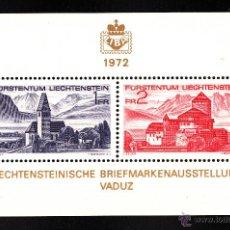 Sellos: LIECHTENSTEIN HB 12** - AÑO 1972 - EXPOSICIÓN FILATÉLICA NACIONAL . Lote 152652689