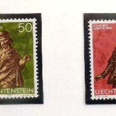 Sellos: SELLOS DE LIECHTENSTEIN 1977. NUEVOS.. Lote 44963563