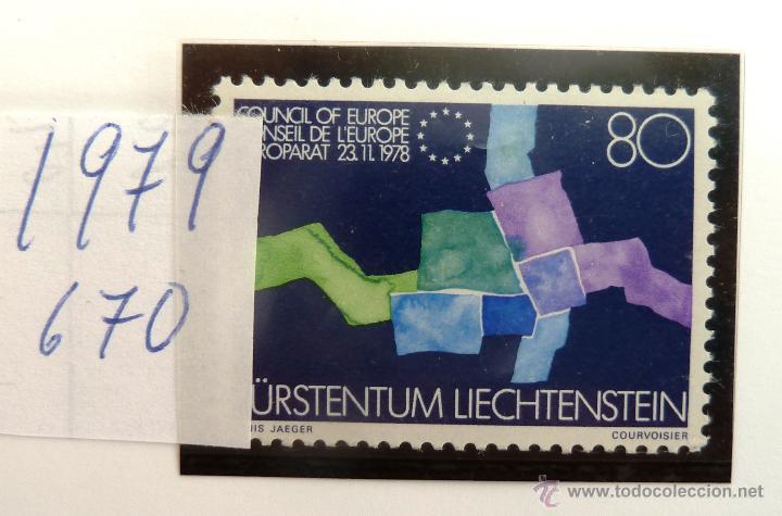 SELLOS DE LIECHTENSTEIN 1979. NUEVO. (Sellos - Extranjero - Europa - Liechtenstein)