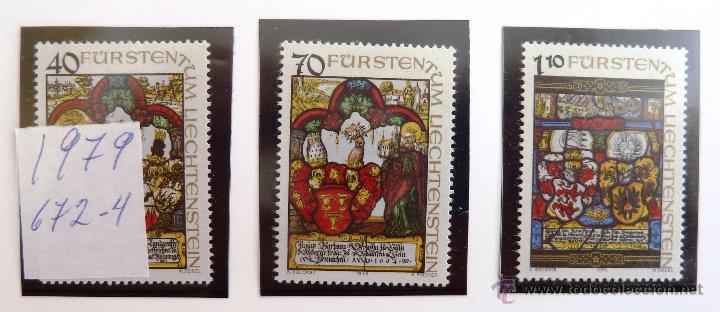 SELLOS DE LIECHTENSTEIN 1979. NUEVOS. (Sellos - Extranjero - Europa - Liechtenstein)
