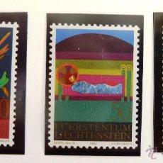 Sellos: SELLOS DE LIECHTENSTEIN 1980. NUEVOS.. Lote 44963829