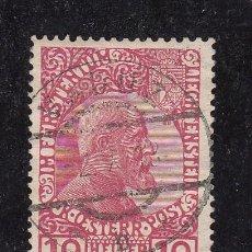 Sellos: LIECHTENSTEIN 2 USADA, PRINCIPE JUAN II,. Lote 45480839