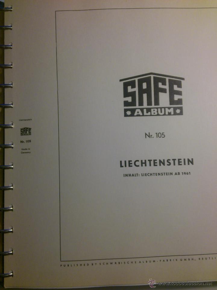 COLECCION DE SELLOS DE LIECHTENSTEIN DEL AÑO 1961 A 1985 AMBOS INCLUSIVE (Sellos - Extranjero - Europa - Liechtenstein)