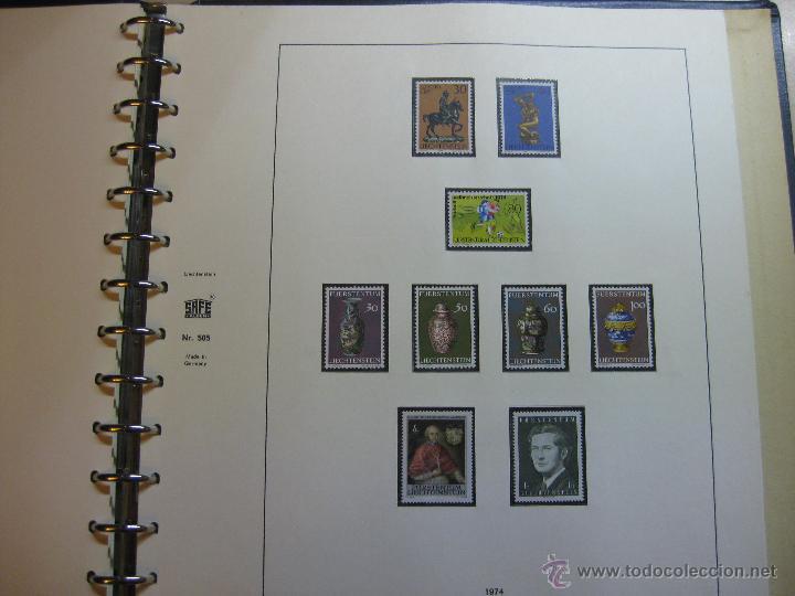 Sellos: COLECCION DE SELLOS DE LIECHTENSTEIN DEL AÑO 1961 A 1985 AMBOS INCLUSIVE - Foto 24 - 46355134