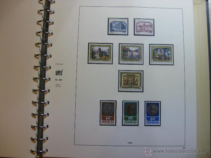 Sellos: COLECCION DE SELLOS DE LIECHTENSTEIN DEL AÑO 1961 A 1985 AMBOS INCLUSIVE - Foto 35 - 46355134