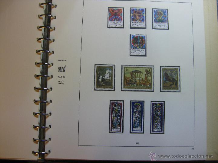 Sellos: COLECCION DE SELLOS DE LIECHTENSTEIN DEL AÑO 1961 A 1985 AMBOS INCLUSIVE - Foto 37 - 46355134