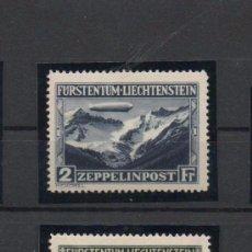 Sellos: LIECHTENSTEIN=YVERT Nº 7/8=VIAJE DEL GRAF ZEPPELIN=CATALOGO + 500 EUROS=VER+. Lote 49641242