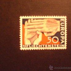 Sellos: LIECHTENSTEIN Nº YVERT 366***. AÑO 1962. EUROPA. . Lote 49915133