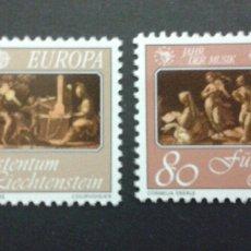 Sellos: SELLOS DE LIECHTENSTEIN. EUROPA CEPT.. YVERT 807/8. SERIE COMPLETA NUEVA SIN CHARNELA.. Lote 53129674