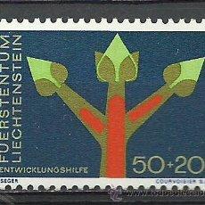 Sellos: LIECHTENSTEIN - 1967 - MICHEL 485** MNH. Lote 53129694