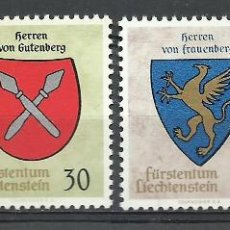 Sellos: LIECHTENSTEIN - 1965 - MICHEL 450/453 // SCOTT 396/399** MNH. Lote 262576445