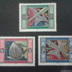 Sellos: SELLOS DE LIECHTENSTEIN. YVERT 831/3. SERIE COMPLETA NUEVA SIN CHARNELA.. Lote 53129937