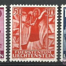 Sellos: LIECHTENSTEIN - 1962 - MICHEL 424/426 // SCOTT 372/374** MNH. Lote 262576650