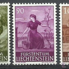 Francobolli: LIECHTENSTEIN - 1961 - MICHEL 411/413 // SCOTT 344/346** MNH. Lote 53141527