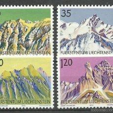 Francobolli: LIECHTENSTEIN - 1990 - MICHEL 1000/1003** MNH. Lote 57669887