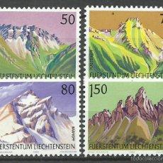 Francobolli: LIECHTENSTEIN - 1989 - MICHEL 974/977 // SCOTT 911/914** MNH. Lote 57669991