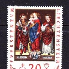 Sellos: LIECHTENSTEIN / FURSTENTUM AÑO 1997 YVERT Nº 1092 ** MNH - PINTURA - PATRONOS DE LIECHTENSTEIN - OBR. Lote 152158885