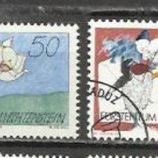 Sellos: 7442-SERIE COMPLETA LIECHTENSTEIN EL PLACER DE LA ESCRITURA,CORREO,BONITOS SELLOS,AÑO 1992 Nº 982/5,. Lote 64047767
