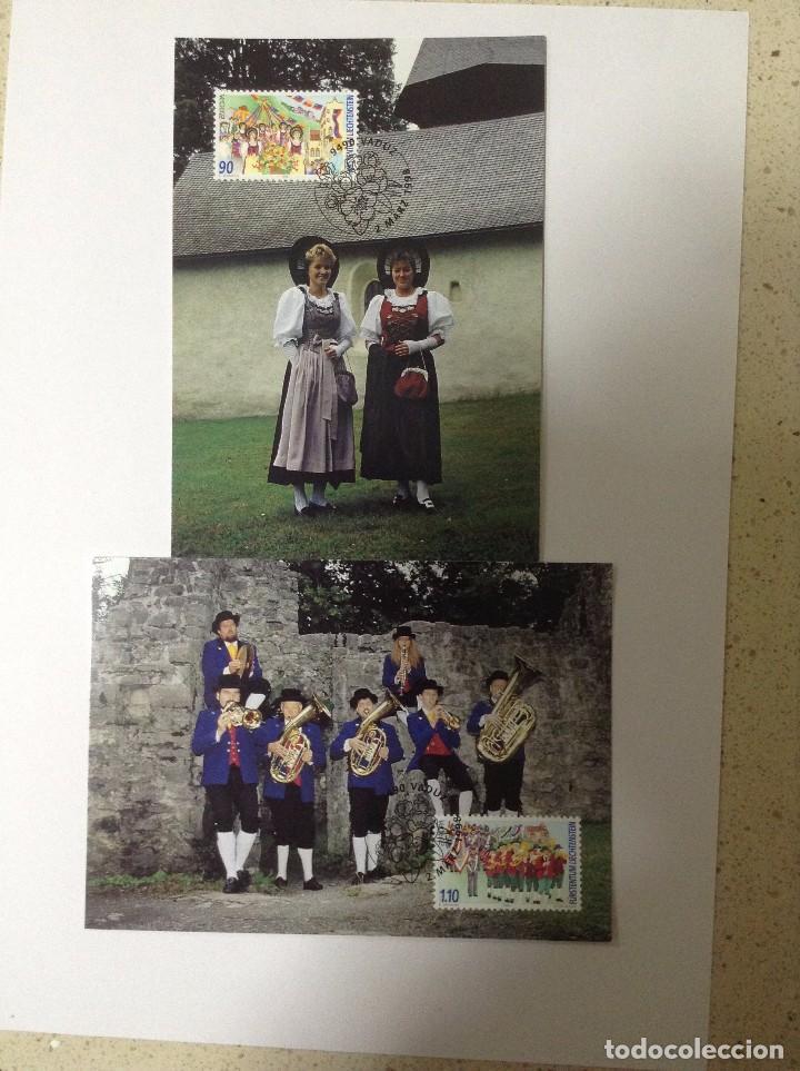 LIECHTENSTEIN 1998 MICHEL 1165/66 MAXIMUMKARTE (Sellos - Extranjero - Europa - Liechtenstein)