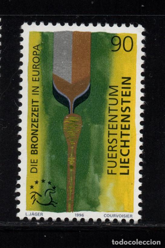 LIECHTENSTEIN 1067** - AÑO 1996 - ARQUEOLOGÍA - LA EDAD DE BRONCE EN EUROPA (Sellos - Extranjero - Europa - Liechtenstein)