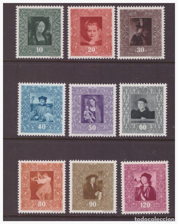 LIECHTENSTEIN 1949 IVERT 232/40 *** REPRODUCCIONES DE CUADROS DE LA GALERÍA DEL PRINCIPADO - PINTURA (Sellos - Extranjero - Europa - Liechtenstein)