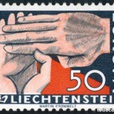 Sellos: LIECHTENSTEIN 1962 IVERT 366 *** EUROPA. Lote 81480632
