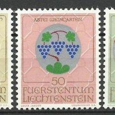 Francobolli: LIECHTENSTEIN - 1971 - MICHEL 548/550** MNH . Lote 84608128
