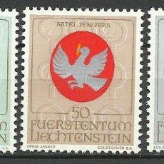 Francobolli: LIECHTENSTEIN - 1969 - MICHEL 514/516** MNH . Lote 84608676