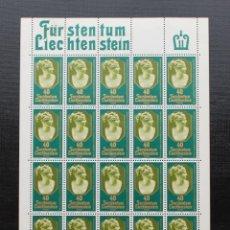 Sellos: LIECHTENSTEIN 1980 HOJA EUROPA PRINCESA DE LIECHTENSTEIN YVERT 682 **. Lote 87850552