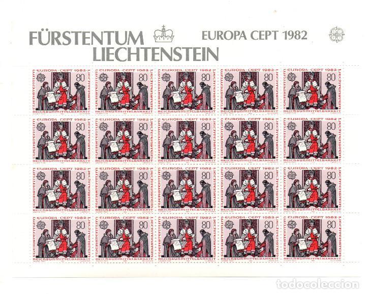 Sellos: Fürstentum Liechtenstein - Europa Cetp 1982 - Sin estrenar - Minihojas - Serie 2hb- sellos - sello - Foto 2 - 91048435