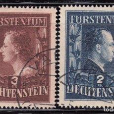 Sellos: 1951 YVERT Nº 266A / 267A ( DENTADO 15 ). Lote 95236451