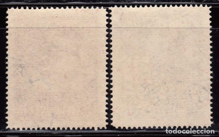Sellos: 1951 YVERT Nº 266a / 267a ( dentado 15 ) - Foto 2 - 95236451