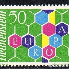 Sellos: LIECHTENSTEIN AÑO 1960 YV 355*** EUROPA - ALEGORÍA. Lote 98813147