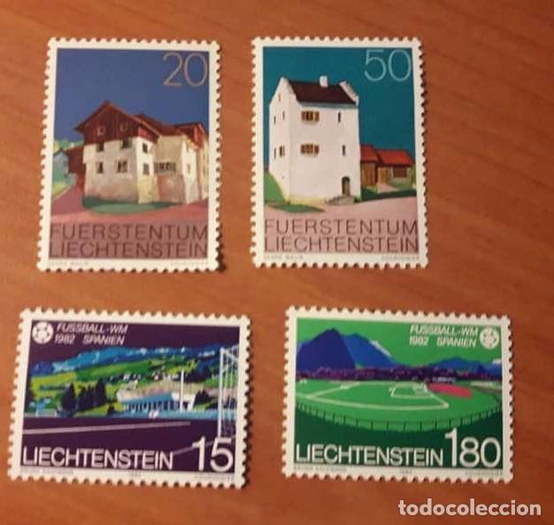 SELLOS LIECHTENSTEIN, NUEVOS CON GOMA (Sellos - Extranjero - Europa - Liechtenstein)