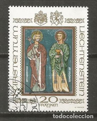 LIECHTENSTEIN SELLO YVERT NUM. 675 USADO (Sellos - Extranjero - Europa - Liechtenstein)