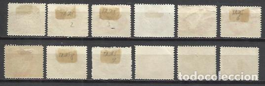 Sellos: 4917-SERIE COMPLETA LIECHTENSTEIN 1920 TASAS Nº1/12 SELLOS CLASICOS,VEAN FOTOS ANVERSO Y REVERSO,SIN - Foto 2 - 137918070