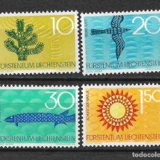 Sellos: LIECHTENSTEIN 1966 SC# 406-409 (4) - MNH - 1/22. Lote 143209138