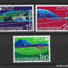 Sellos: LIECHTENSTEIN 1982 SC# 737-739 (3) - MNH - 1/23. Lote 143341578