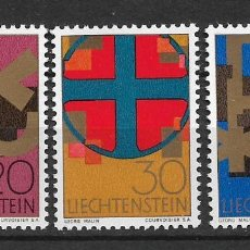 Sellos: LIECHTENSTEIN 1967 SC# 426-428 (3) - MNH - 1/24. Lote 143342330
