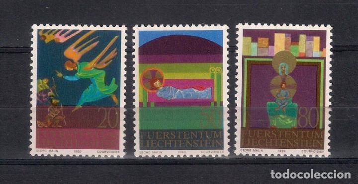 LIECHTENSTEIN 1980 ** - NAVIDAD - 1/24 (Sellos - Extranjero - Europa - Liechtenstein)
