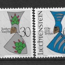 Sellos: LIECHTENSTEIN 1966 SC# 411-414 (4) - MNH - 1/25. Lote 143342822