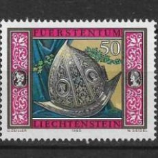 Sellos: LIECHTENSTEIN 1985 SC# 826-828 (3) - MNH - 1/25. Lote 143342902