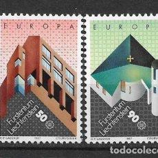 Sellos: LIECHTENSTEIN 1987 SC# EUROPA CEPT - MNH - 1/25. Lote 143343002