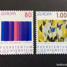 Sellos: LIECHTENSTEIN Nº YVERT 995/6*** AÑO 1993. EUROPA. Lote 143545942