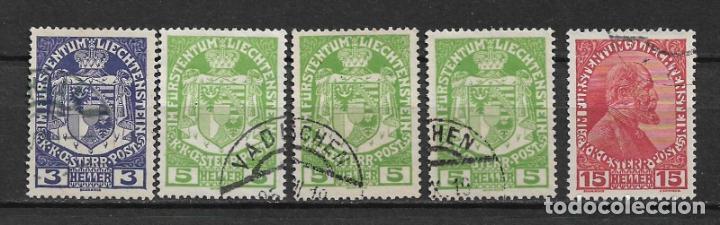 LIECHTENSTEIN 1917 USED - 1/59 (Sellos - Extranjero - Europa - Liechtenstein)