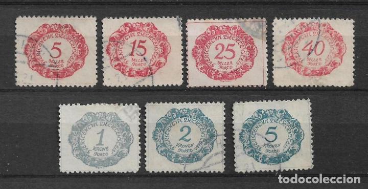 LIECHTENSTEIN 1920 USADO - 8/53 (Sellos - Extranjero - Europa - Liechtenstein)